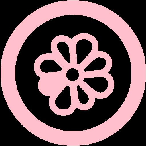 Pink Icq Icon