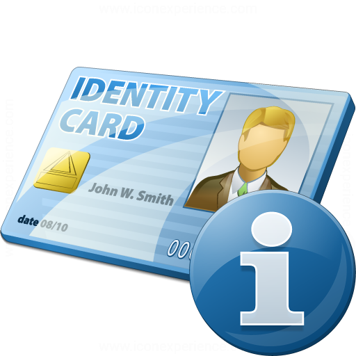 Iconexperience V Collection Id Card Information Icon