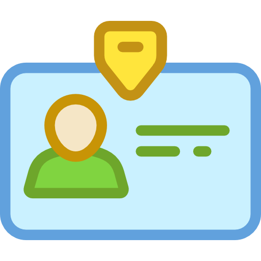 Identity, User, Pass, Business, Identification, Id Card Icon