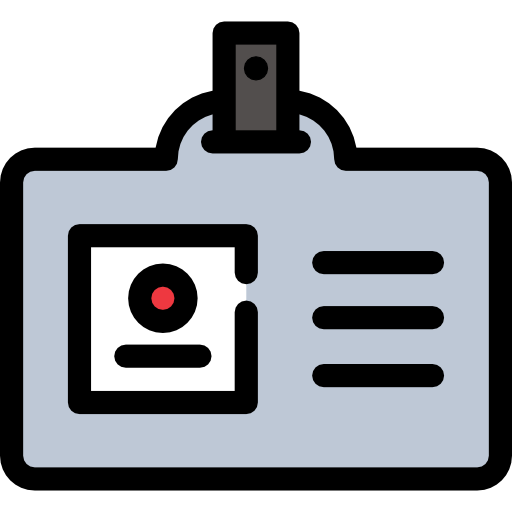 Business And Finance, Pass, Identification Icon