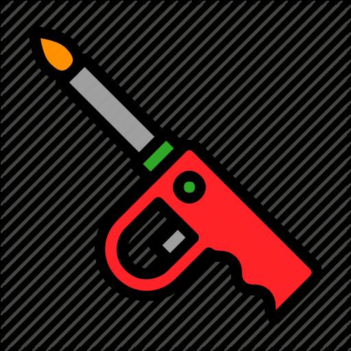 Bbq, Fire, Gas Lighter, Ignite, Lighter Icon