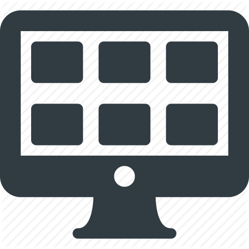 Applications, Apps, Desktop, Programs, Tile Icon