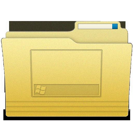 Folders Desktop Folder Icon Iwindows Iconset Wallec