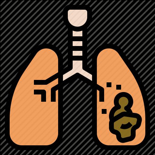 Cancer, Illness, Lung, Symptom, Tobacco, Tumor Icon