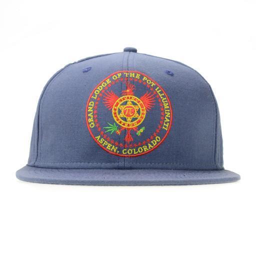 Abakus Pot Illuminati Blue Strapback Grassroots California