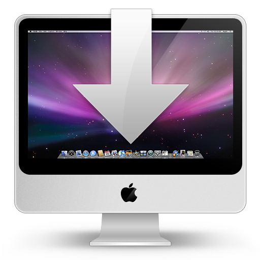 Sidebar, Downloads, Apple, Imac Icon Free Of Hyperion Icons