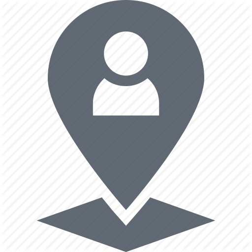 Location Pin, Man Location, Map Location, User Location, User