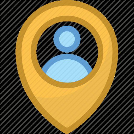 Location Pin, Map Location, Map Pin, User Location, User