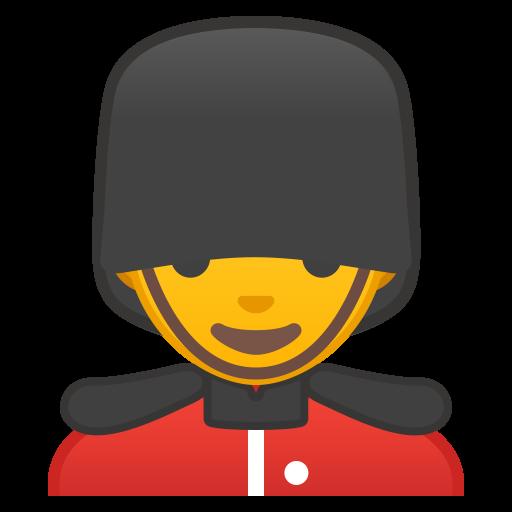 Man Guard Icon Noto Emoji People Profession Iconset Google