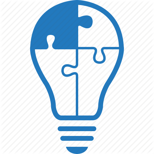 Idea, Implementation, Skill, Solution, Strategy Icon