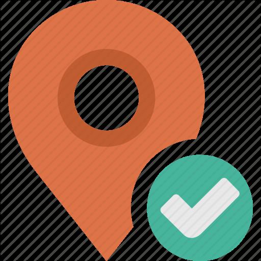 Accept, Check, Location, Map, Ok, Pn