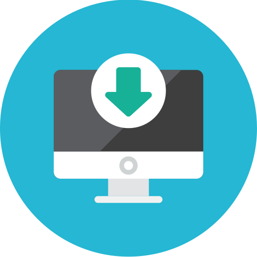 Computer, Download Icon