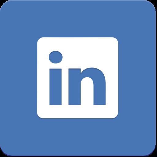 Icon, Linkedin, Material Design Icon
