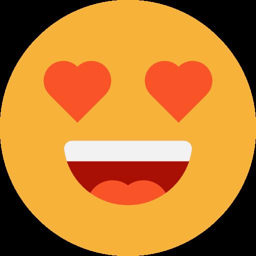 Feelings, Smileys, Emoticons, Emoji, In Love Icon