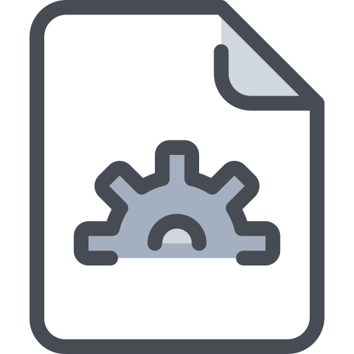, Document, Process Icon Free Of Free Color Mix