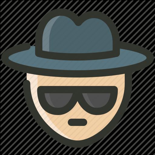 Agent, Detective, Incognito, Spy Icon