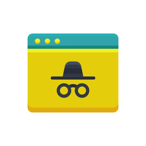 Incognito Mode Icon Free Download