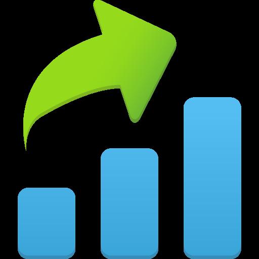 Increase Icon Flatastic Iconset Custom Icon Design