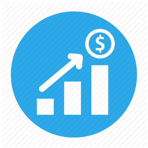 Business, Circle, Income, Increase, Office, Profit, Sales Icon