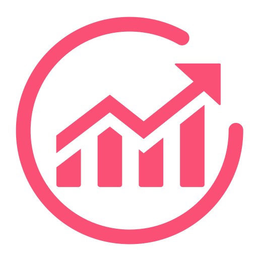 Increase, Profit, Revenue Icon With Png And Vector Format For Free