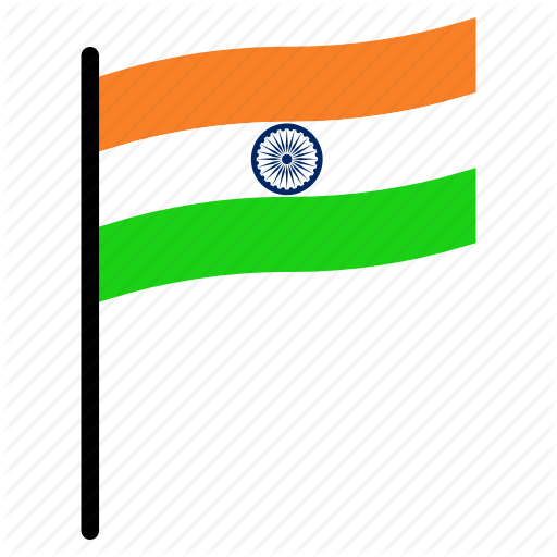 Country, Flag, Independence, India, Nation Icon