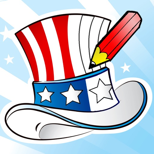 Easy App Finder Independence Day Coloring Book For Children Learn