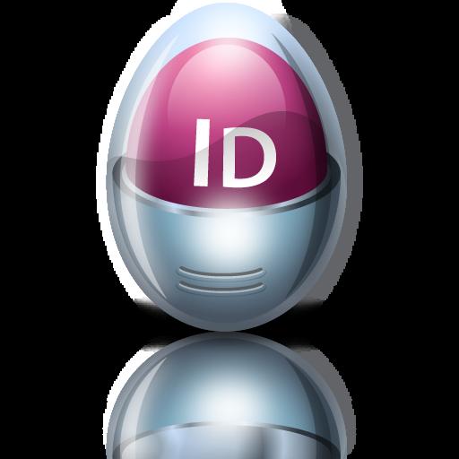 Adobe, Egg, Indesign Icon