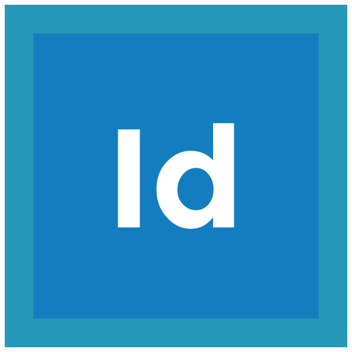Format, Extension, Adobe, Indesign Icon Icon