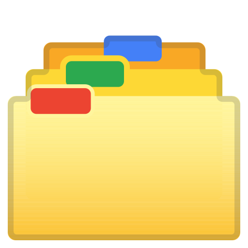 Card Index Dividers Icon Noto Emoji Objects Iconset Google