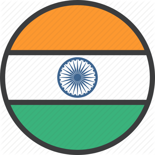 Asian, Country, Flag, India, Indian Icon
