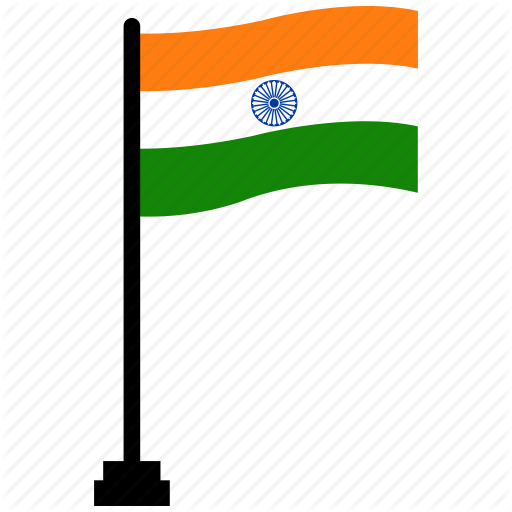 Flag, India, Republic Day Icon
