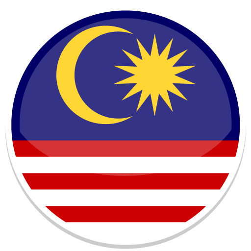 Malaysia Icon Round World Flags Iconset Custom Icon Design