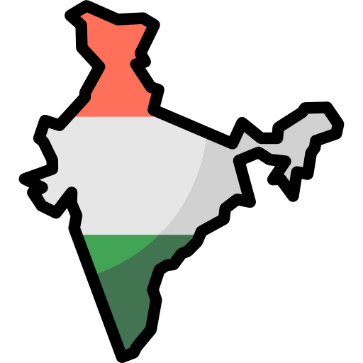 Map, Borders, India, Geography, Nation, Maps And Location