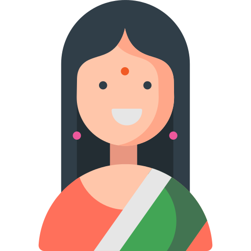 Woman India Png Icon