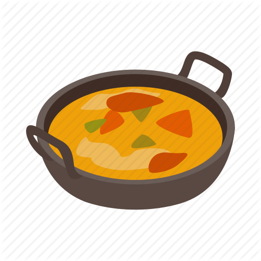 Curry, Food, India, Indian, Isometric, Traditional, Vegetarian Icon