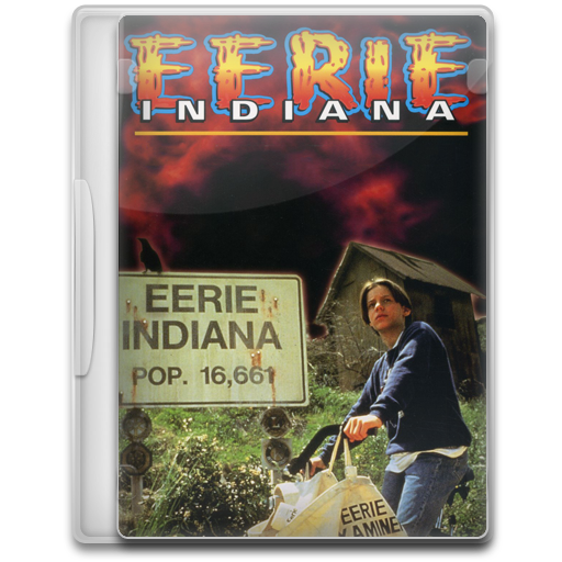 Eerie Indiana Icon Tv Show Mega Pack Iconset
