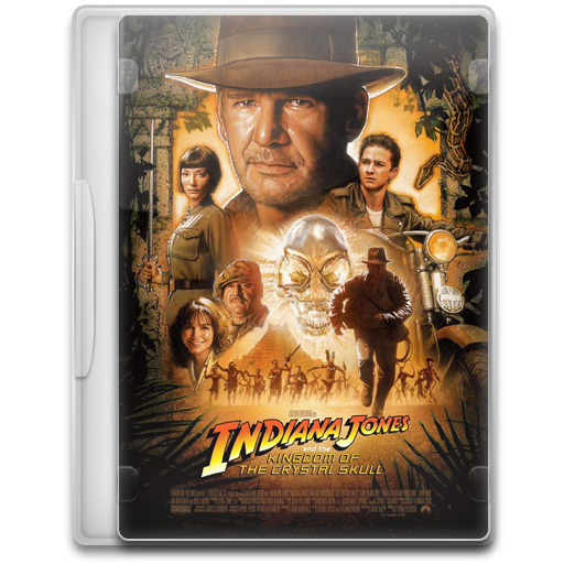 Indiana Jones And The Kingdom Of The Crystal Skull Icon Movie
