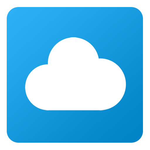 Cloudapp Icon Flat Gradient Social Iconset Limav