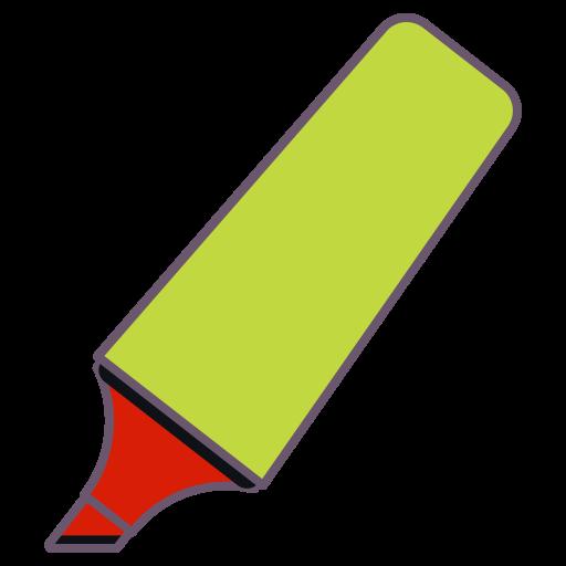 Marker Sketchpen Highlighter Pen Ink Office Stationery