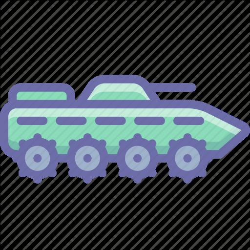 Amphibious, Apc, Ifv, Infantry, Military, Tank Icon