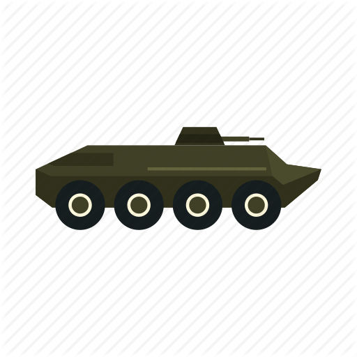 Armored, Army, Force, Infantry, Military, Vehicle, War Icon