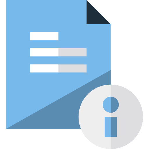 Document, File, Info Icon