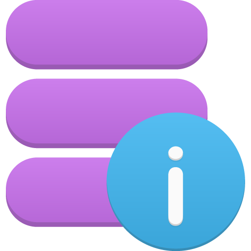 Data, Info Icon