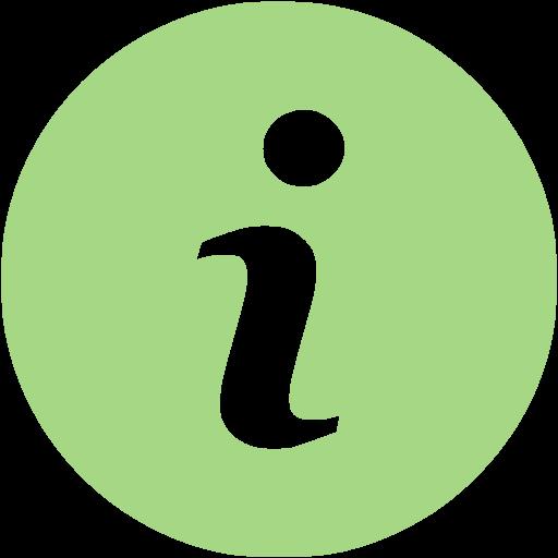 Guacamole Green Info Icon
