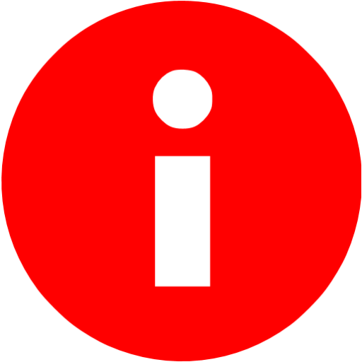 Red Info Icon