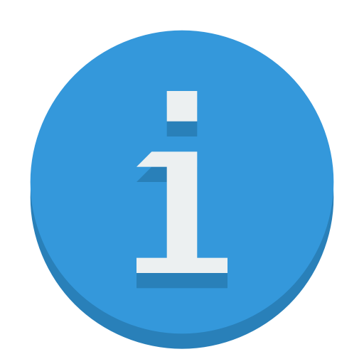Sign Info Icon Small Flat Iconset Paomedia