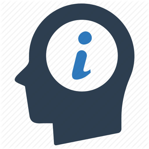 Head, Help, Info Icon