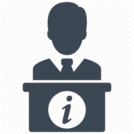 Receptionist Information Counter Transparent Png Clipart Free