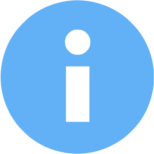 Tropical Blue Info Icon
