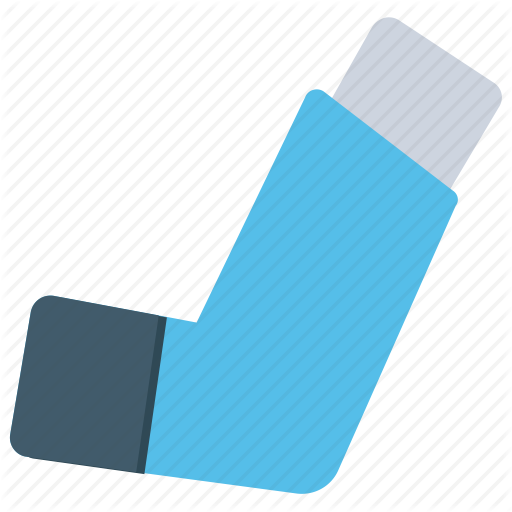 Asthma, Inhaler, Medical Device, Puffer, Respiratory Therapy Icon